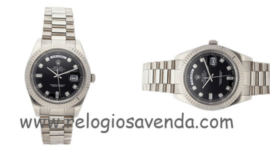 Relógio de homem Rolex novo diário de movimento constante II